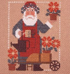 Prairie Schooler - Cross stitch and counted needlepoint patterns, designs, books and catalogs.    Have to do this for my mom!