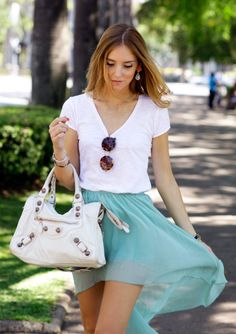 ♥ Chiara Ferragni- casual look