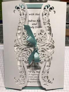 Handmade by Kathie K: Die Cut Gatefold Cards
