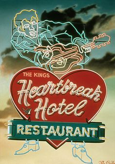 Heartbreak Hotel Restaurant - I definetley want to go there! <3 <3 <3