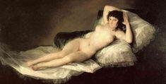 La maja desnuda. Francisco de Goya
