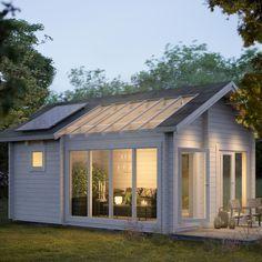 Enclosed Gazebo, Backyard Studio, Farm Stay, Beach Shack, Skylight, My Dream Home, Tiny House, Beautiful Homes, Shed