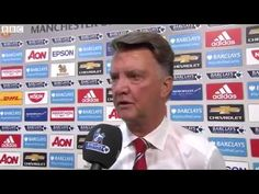 Manchester United 1 0 Tottenham   08 08 2015 Louis Van Gaal interview af...