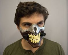Hey, I found this really awesome Etsy listing at https://www.etsy.com/listing/245054030/immortan-joe-3d-printed-mask-mad-max