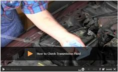 Video - How to Check Transmission Fluid: We show you how to check your transmission fluid to prevent damage to your transmission. Make sure you are not driving around with low transmission fluid.  Watch: http://www.familyhandyman.com/automotive/car-maintenance/how-to-check-transmission-fluid