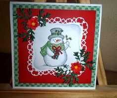 Kika's Designs : Little Snowman