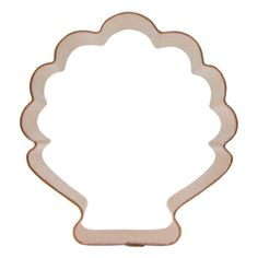 peacock cookie cutter -Great Idea Use a shell cutter to make peacocks
