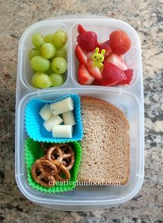 Quick and Easy Bento in an EasyLunchbox creativefunfood.com