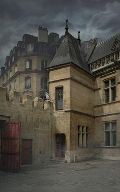 Paris France Cluny Museum, Musée de Cluny
