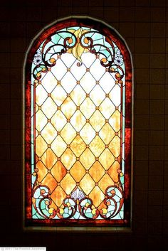 Winchester House - beautiful stained glass windows, even one that she had enclosed in a stairwell that never got to have a ray of sunlight shine through it.