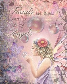 Good Day AngelSisterFriends!!! I LOVE this pin!!! I love BUBBLES, hence Bubble Blessings & I love YOU, my FRIENDS!!! And so the Angels blew Bubble KISSES of FRIENDS to ME!!! HOW VERY BLESSED I AM!!! ❤️ Love ¥!ck!£ ❤️❤️❤️ Be Blessed My Lovely Friends ❤️❤️