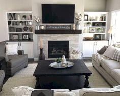 69+ Lovely Modern Living Room Decor Ideas #livingroom #livingroomdecor #livingroomdecorideas