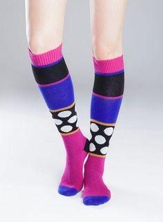 Hop-polvisukat (sininen, lila, musta) |Asusteet, Sukat ja sukkahousut, Laukut & asusteet | Marimekko