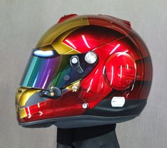 "Racing Helmets Garage: Arai GP-6S ""Ironman"" 2014 by YF Design"