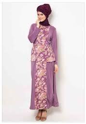 model baju muslim jersey motif wanita 2016 90dea79709