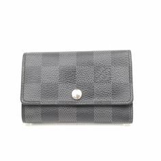 0ad0ea6ecdf3 Authentic Louis Vuitton Key Case Multicles6 Black Damier Graphite 366270  #fashion #clothing #shoes #accessories #womensaccessories  #keychainsringsfinders ...