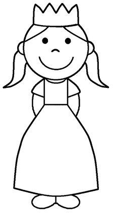 Prenses Boyama Sayfası Boyama Sayfalari Pinterest Princess