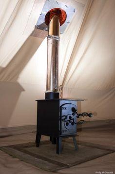"""""""Blaze"""" woodburning stove"""