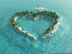 Heart Island in mangrove delta of the Vaza-Barris River, Brazil.