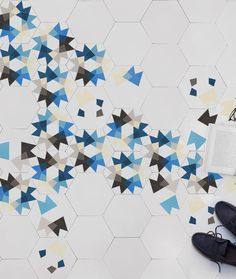 Keidos. @enticdesigns 's cement #tiles designed by @MUT DESIGN