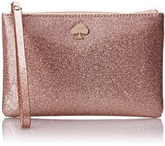 love this cute rose gold wristet. kate spade new york Glitter Bug Bee Coin Purse