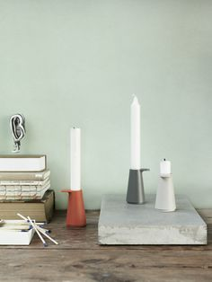 Grip Candlestick by Muuto