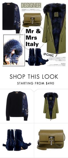 """""""Designer: Mr & Mrs Italy"""" by ifchic ❤ liked on Polyvore featuring N°21, Mr & Mrs Italy, Carven and contemporary"""