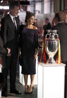 Reina Letizia y King Felipe