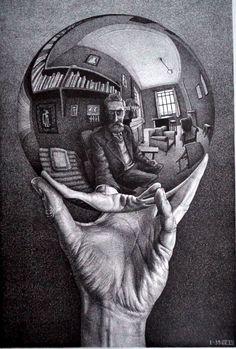 """""""Between Two Worlds"""": Nendo Recreates The Impossible World Of MC Escher In Immersive Exhibition Mc Escher Art, Escher Kunst, Escher Drawings, Maurits Cornelis Escher Obras, Famous Drawing Artists, Op Art, Tattoos Motive, Dulwich Picture Gallery, Tatoo"""
