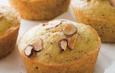 Orange-Scented Almond and Olive Oil Muffins   Recipes   Giada De Laurentiis