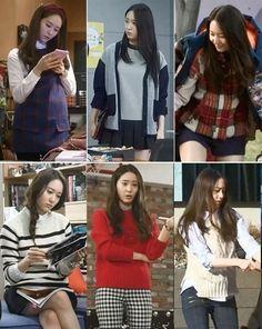 krystal as Lee Bona - The Heirs Tumblr Fashion, Fashion Tv, Fashion Books, Fashion Outfits, Jessica & Krystal, Krystal Jung, Bride Of The Water God, Model Look, Korean Street Fashion