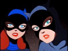 Imagen de batgirl, catwoman, and selina kyle