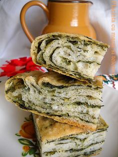 Placinta cu marar si telemea Best Sandwich Recipes, Romanian Food, Hungarian Recipes, Just Cooking, Tea Cups, Bakery, Sandwiches, Avocado, Favorite Recipes