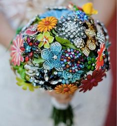 Bridal Bouquets that aren't made of flowers