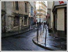 Rita Crane Photography: Paris / Marais / street / building / interesting / architecture  / history / Glimpse of the Marais, Paris with Half-Timbered Medieval House