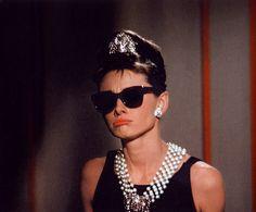 Audrey Hepburn hace morritos