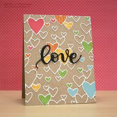 Hi everyone, I hope your February is off to a great start! I thought I'd pop by and share a couple of cards made using the new (and res...