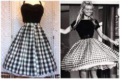 50s vintage inspired Brigitte Bardot full by boobookittycouture