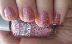 NOTD: Pink Gradient Glitter