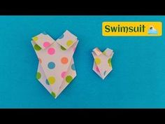 Swimsuit - DIY Costume Origami Tutorial by Paper Folds ❤️ - YouTube