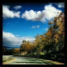 Fall in Lake Elsinore