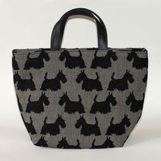 Grey Scottie Dog Tote Handbag by Belly Moden �42.99