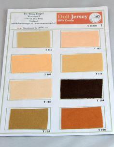 Doll skin fabric-Waldorf Doll Skin Fabric T102 1/2 by reggiesdolls