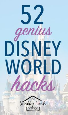 Headed to Disney World? These Disney World Hacks will help make your vacation a little more magical! #disneyworld #disneyhacks #disneyvacation