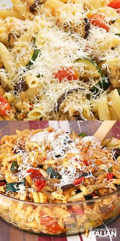 May 2019 - Roasted Vegetable Penne Pasta is the Best Ever Italian Pasta Salad! It is an amazing and simple recipe that is 'knock your socks off' delicious! It starts with slow roasted vegetables and ends with a fresh garlic Parmesan sauce. Best Vegetable Recipes, Vegetable Entrees, Parmesan Sauce, Garlic Parmesan, Clean Eating, Healthy Eating, Cooking Recipes, Healthy Recipes, Cooking Bacon