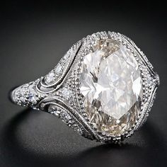 old fashion engagement ring