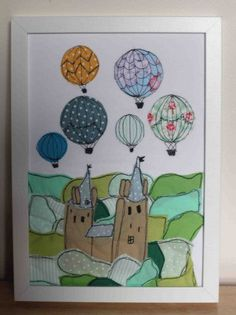castellcoch with balloons ©sewnbyrachael