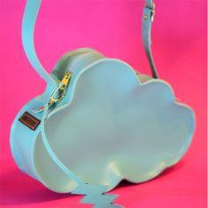 Bolsa nuvem feita à mão - Abicatori Cute Purses, Purses And Bags, Craft Bags, Best Bags, Fabric Bags, Kids Bags, Cute Bags, Small Bags, Tote Handbags