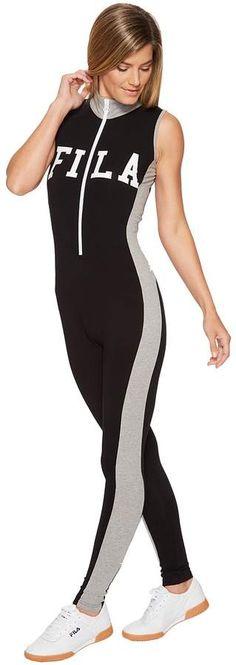 36c1116d01a0 Fila - Roseann Unitard Women s Jumpsuit  amp  Rompers One Piece Jumpsuits  For Women