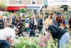 Columbia Road Flower Market, London | www.8ruecaffarelli.com